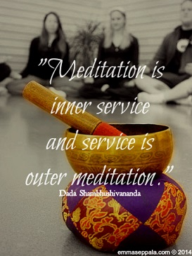 Meditation Service