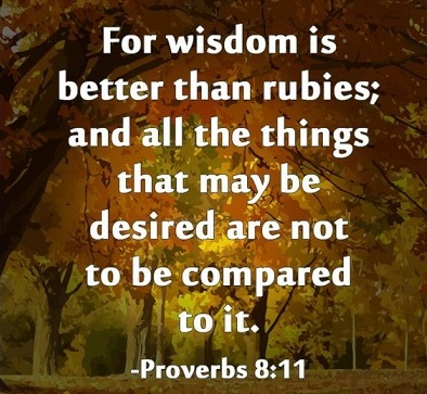 Wisdom Proverbs